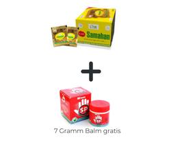 Samahan Tee - 150 Beutel Box + (Samahan Balm 7 Gramm Dose Gratis dazu)