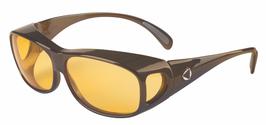 SCHWEIZER Lifeline Comfort Übersetzbrille FILTER COVER Dark Bronze, CR39, C1, POL1