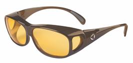 SCHWEIZER LifeLine Comfort Übersetzbrille FILTER COVER Dark Bronze, CR39