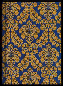 Schreibkult Rudolph blau/gelb