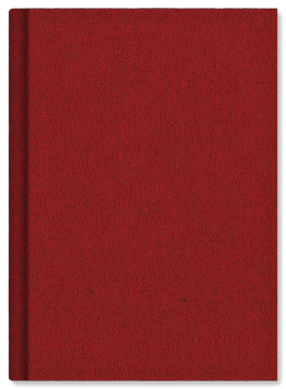 Schreibkult Lodentuch rot