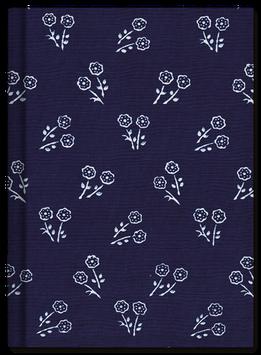 Schreibkult Blaudruck - Rosen