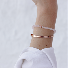 Jade Armband Soft Pink