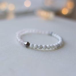 Jade Marmor Diamant Armband