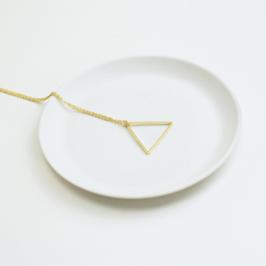Kette Dreieck Gold