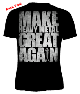 "Ballroom Hamburg - T-Shirt ""Make Heavy Metal Great Again"""