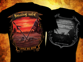 "Running Wild - T-Shirt ""Little Big Horn"""