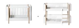 Oliver Furniture kit de conversion basic en lit junior superposé