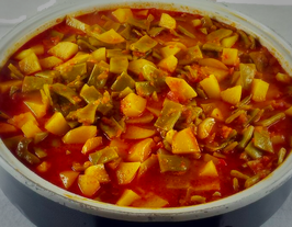 Bohnen-Kartoffeleintopf