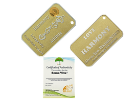 Soma-Vita Harmony Wellness Card 2.0 (Gold Color)