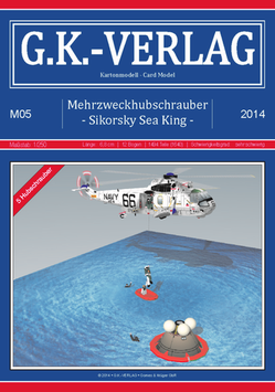 5 Modelle Mehrzweckhubschrauber Sikorsky Sea King SH-3D