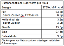 """""""Römer"""" Bio Haselnusskerne, natur"""