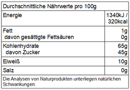 Pfv - getrocknete Bio  Maulbeeren