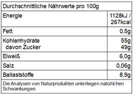 Pfv - getrocknete Bio Sauerkirschen