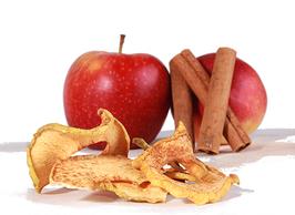 Bio - Apfelchips mit Zimt