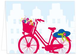 Hut, Fahrrad und Giebel