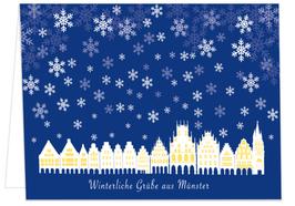 Winterliche Grüße aus Münster