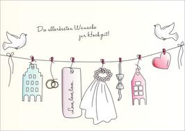 Grüße zur Hochzeit