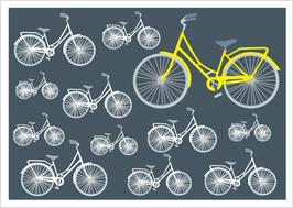 Fahrräder anthrazit