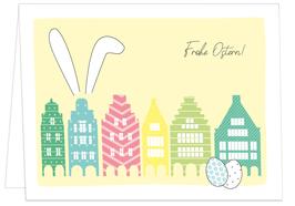 Giebelhäuser mit Ohren - Frohe Ostern!