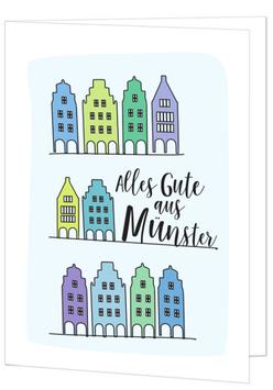 Giebelhäuser - Alles Gute aus Münster