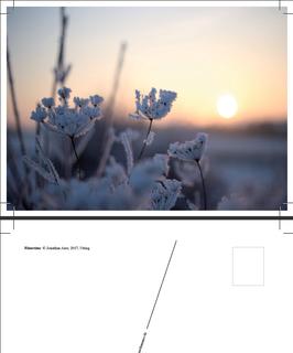 "Postkarte ""Wintertime"""