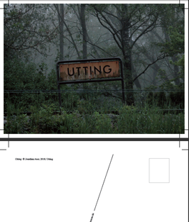 "Postkarte              ""Utting"""