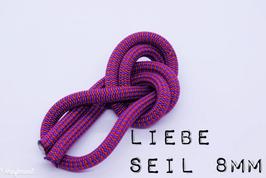 Seile in Größe Standard (ca. 8mm) für Schlüsselanhänger