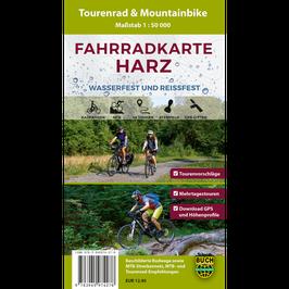 Fahrradkarte Harz (wetterfest)
