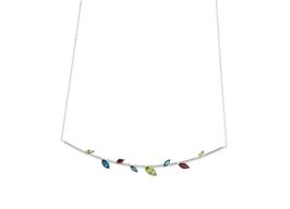 Twigs - Short Silver Necklace