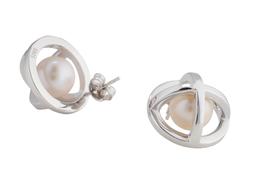 Hidden Globe - Stud Earrings