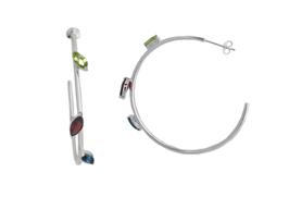 Twigs - Hoop Earrings