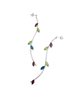 Twigs - Long Bended Earrings