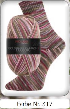 Pro Lana Golden Socks Eggberg 4-fädig