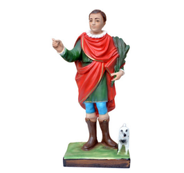 Saint Vitus statue cm. 32