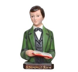 Saint Dominic Savio statue cm. 18