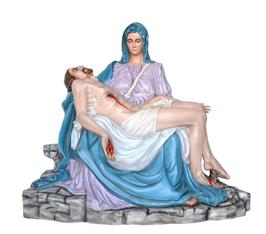 Pietà statue cm. 130 - colors
