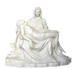 Pietà fiberglass statue cm. 130
