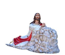 Christ in the Garden of Gethsemane statue cm. 115 x 230