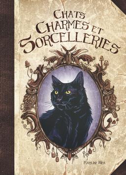 """""""Chats, charmes et sorcelleries"""" livre illustré"""