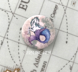 badge broche hippocampe