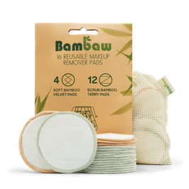 bambus make-up pads