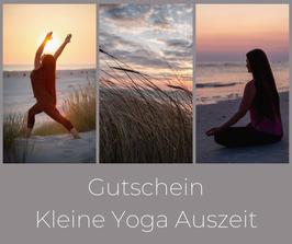 Gutschein kleine Yoga Auszeit auf Amrum - 4 Tage Yoga & Wandern