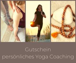 Gutschein persönliches Yoga Coaching