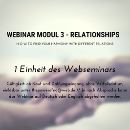 Webinar Modul 3 - Relationships
