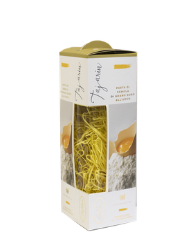 3 Conf. di Tajarin all'uovo in astuccio rigido da 250 gr.