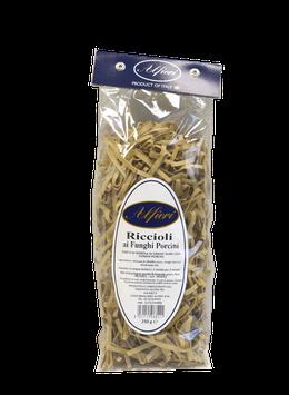 3 Conf. di Riccioli ai funghi porcini in sacchetto da 250 gr.