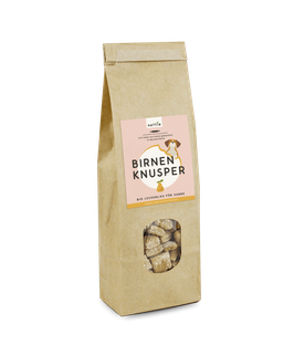 Vegane Leckerlies Birnen Knusper - 200 g