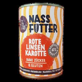 Nassfutter mit Insektenprotein - Rote Linse & Karotte | tenetrio