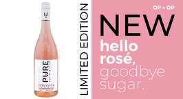 Pure the winery limited edition rosé